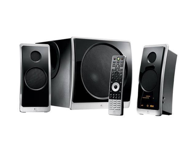 057a2673552 Logitech Z Cinema Advanced 180 watts RMS 2.1 Surround Sound System