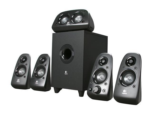 16d9a13d671 Logitech Z506 75 watts RMS 5.1 Surround Sound Speakers