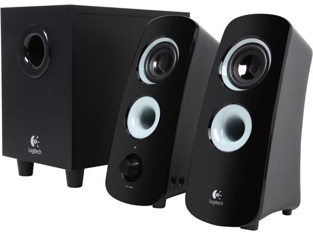 24.99 - Logitech Recertified 980-000354  Z323 2.1 Speaker System