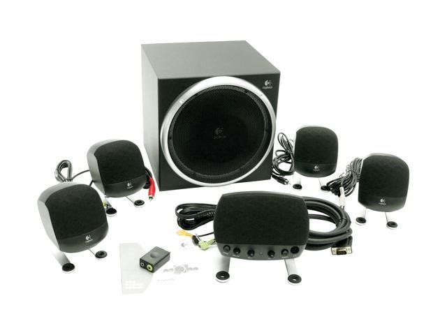 Logitech z-640 speakers newegg. Com.