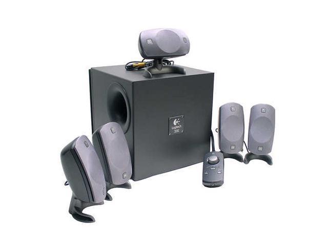 19e9a801230 Logitech Z-5300 280 watts 5.1 Speaker