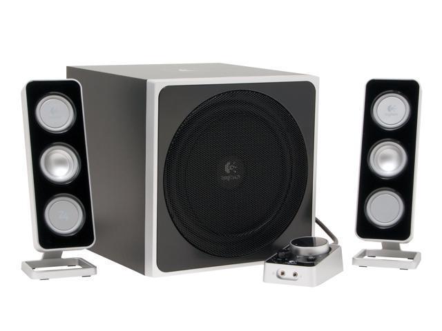 f4a17b996d4 Logitech Z-4 Speakers - Newegg.com