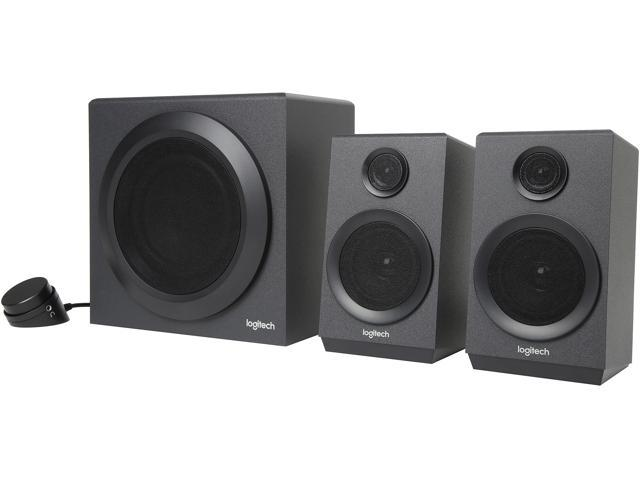 Logitech Logitech Z333 2 1 Speakers – Easy-access Volume Control, Headphone  Jack – PC Z333 Multimedia Speakers - Newegg com