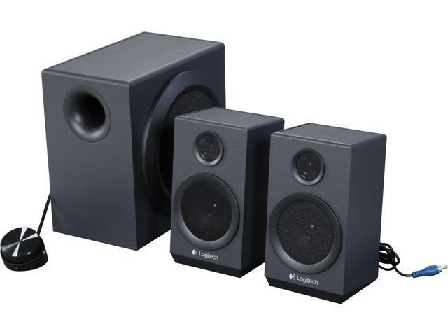d72f69d950c Logitech Recertified 980-001203 Z333 2.1CH 80 Watts Multimedia Speakers