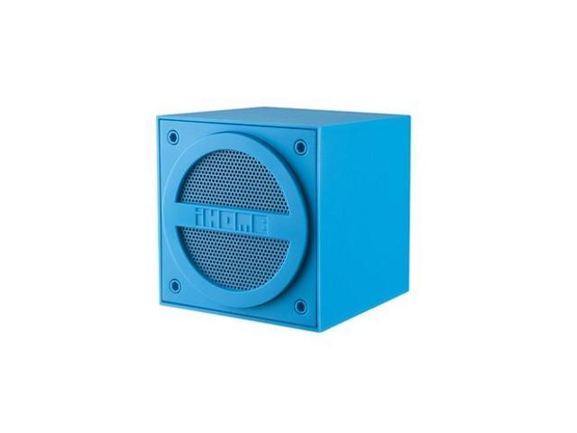 iHome iBT16 Speaker System - Wireless Speaker(s) - Blue - Newegg.com