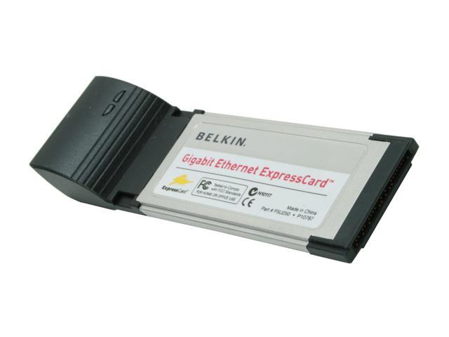 BELKIN GIGABIT EXPRESSCARD DRIVERS FOR WINDOWS