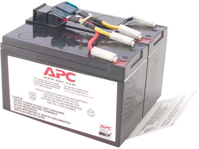 APC UPS Battery Replacement for APC UPS Models SMT750, SMT750US, SUA750 and  select others (RBC48) - Newegg com