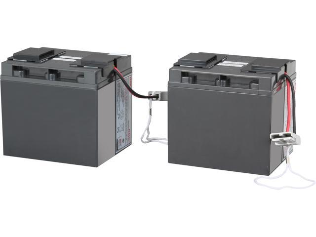 APC UPS Battery Replacement for APC Smart-UPS Models SMT2200, SMT3000,  SMT2200C, SMT200US, SMT3000C, SUA2200, SUA3000 and select others (RBC55) -