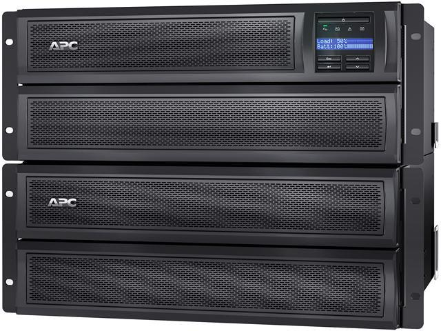 APC Smart-UPS X SMX2000LVNC 2000VA Rack/Tower LCD 100-127V with Network  Card - Newegg com