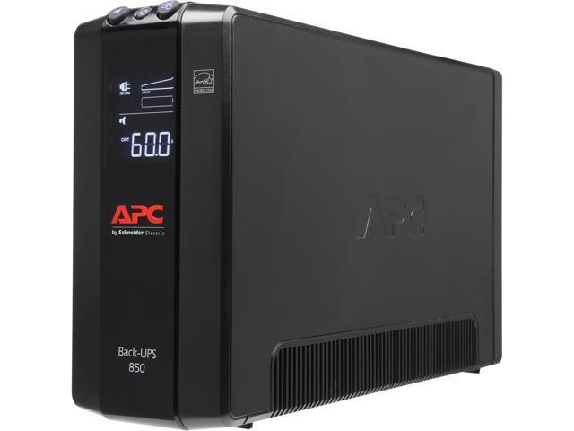 Apc Bx850m Back Ups Pro 850 Va 510 Watts 8 Outlets