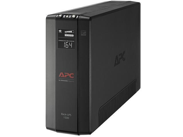 APC BX1500M Back-UPS Pro 1500 VA 900 Watts 10 Outlets Uninterruptible Power  Supply (UPS) - Newegg com