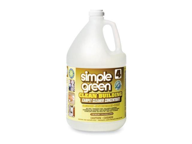 Simple Green 11201 Clean Building Carpet Cleaner Concentrate Unscented 1 Gal Bottle