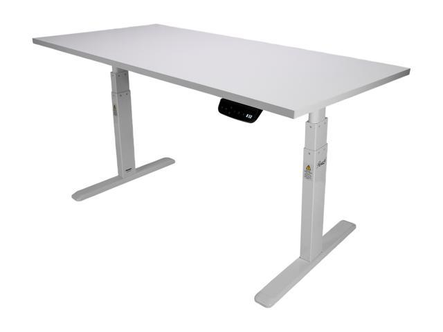 Rosewill Electric Standing Desk Frame & Wood Table Top w/ Height Adjustable Sit Stand Modes, Silent Dual Motors, Memory Settings, Sturdy & Supports up to 220 lbs, Easy Assembly - RSD10