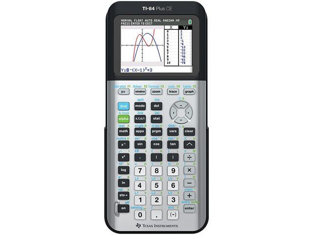 Texas Instruments 84PLSECBLACKTPK TI-84 Plus C Silver Edition Graphing  Calculator Teacher Pack - Newegg com