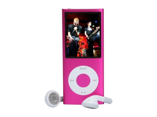 used very good apple ipod nano 8gb 4th gen pink mb735ll a rh newegg com iPod 8G Manual iPod Nano 4th Generation 8GB