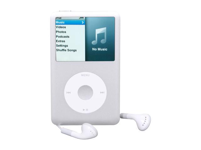 apple ipod classic 160gb silver mc293ll a newegg com rh newegg com iPod Classic 5th Generation manual for ipod classic 160gb