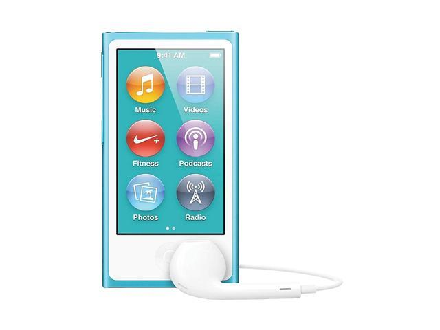 used very good apple ipod nano 16gb blue 7th gen newegg com rh newegg com iPod Nano 7th Generation Colors iPod Nano 7th Generation Manual
