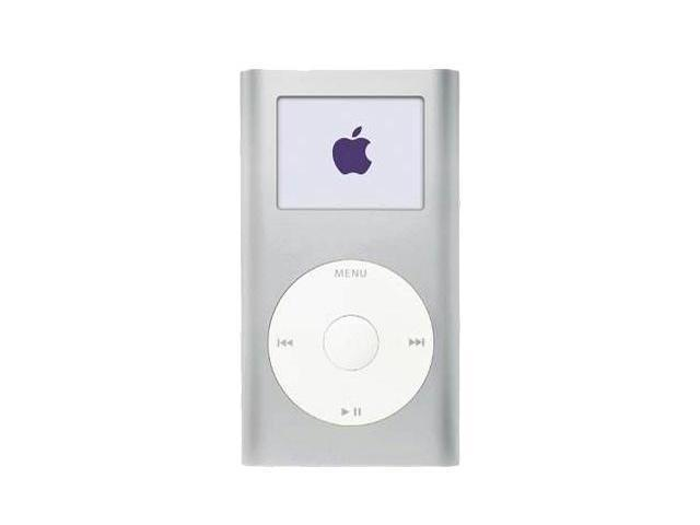 Used Very Good Apple Ipod Mini 2nd Gen 167 Silver 4gb Mp3 Player M9800lla Neweggcom
