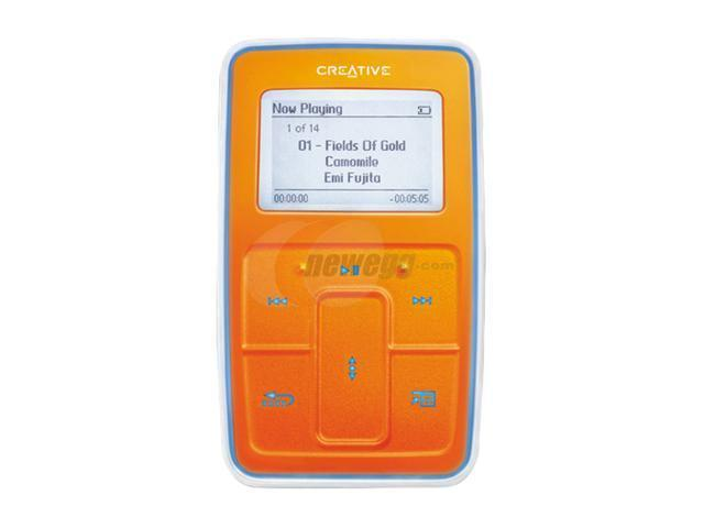 Creative Orange 5GB MP3 Player 70PF108000078