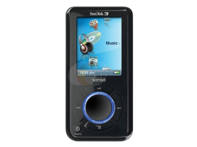 sandisk 1 8 black 4gb mp3 player sansa e260 newegg com rh newegg com SanDisk Sansa E200 SanDisk Sansa E200