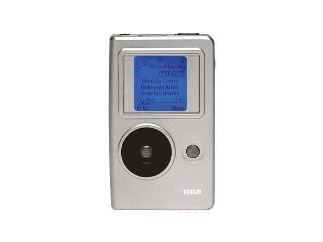 RCA Silver 5GB MP3 Player H115