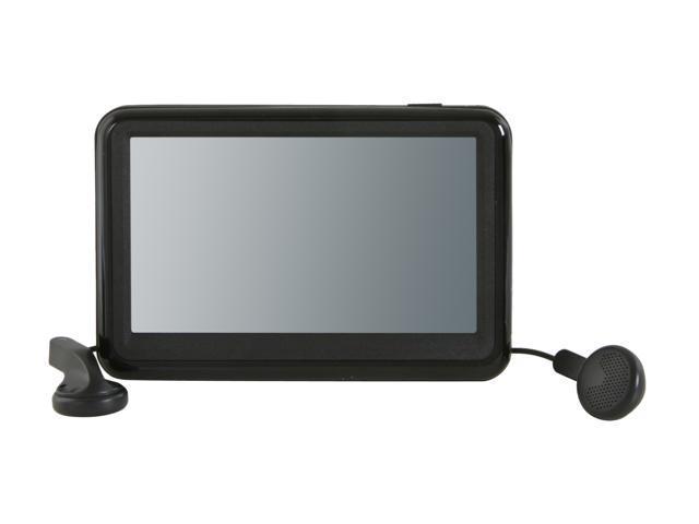 sylvania 3 6 black 4gb video mp3 player smpk4230 newegg com rh newegg com