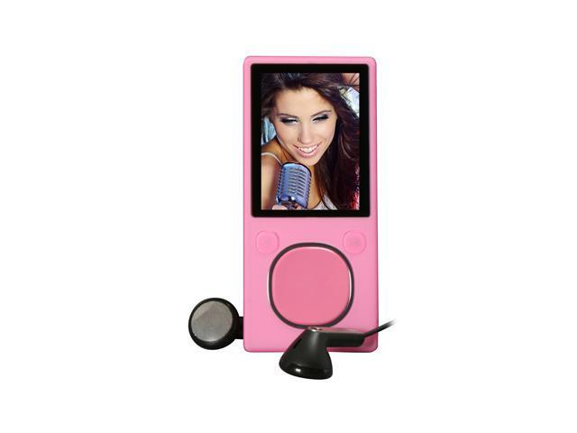 "Microsoft Zune 1.8"" Pink 8GB MP3 / MP4 Player"