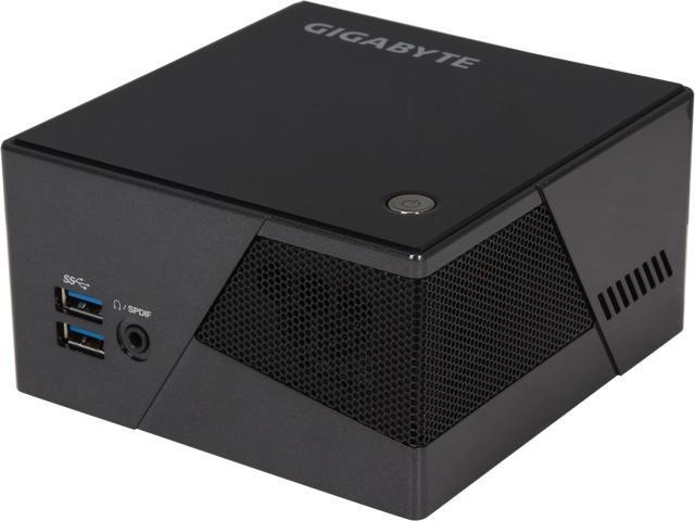 GIGABYTE GB-BXi7-4770R Black Mini-PC Barebone - Newegg.com 2b6495755bfb