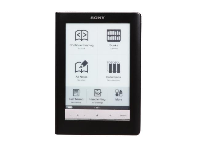 sony prs 600bc reader touch edition e book reader classic black rh newegg com Sony Xperia Sim Card Sony Reader Library