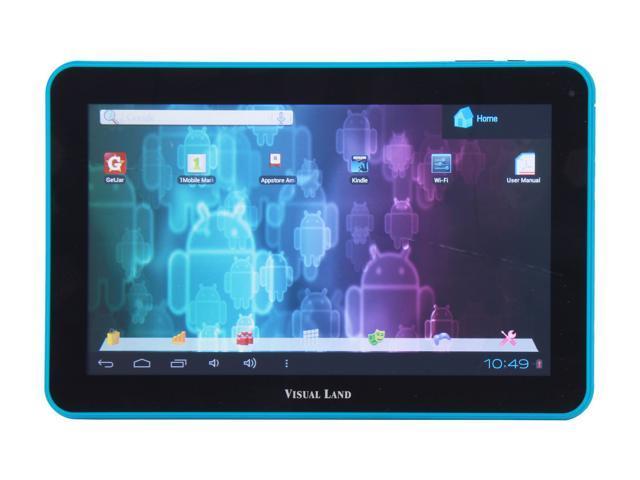 Visual Land ME-110-16GB-BLU Allwinner Cortex A8 1.20 GHz
