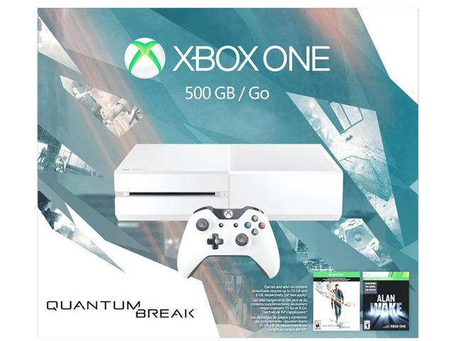 Xbox One 500GB White Console - Special Edition Quantum Break Bundle -  Newegg com