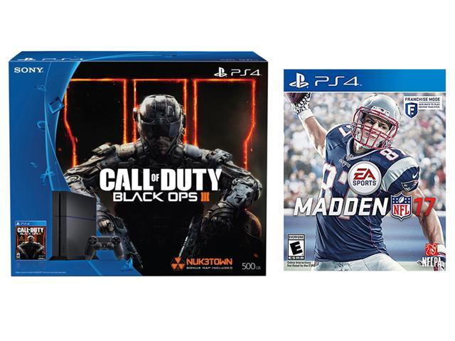 Playstation 4 Console Call Of Duty Black Ops 3 500 Gb Bundle