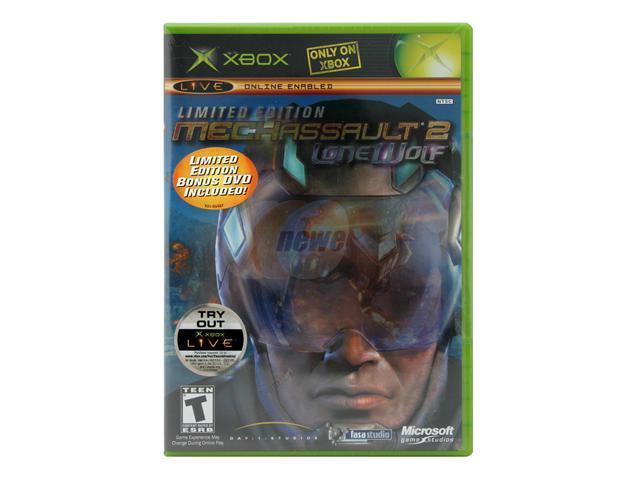 MechAssault 2: Lone Wolf Limited Edition with bonus XBOX game Microsoft -  Newegg com