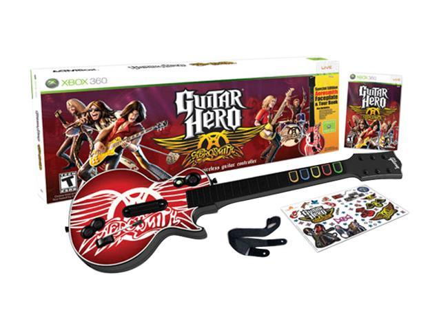 Guitar Hero Aerosmith Bundle for Xbox 360 Activision - Newegg com