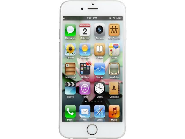 Refurbished: Apple iPhone 6 MG6A2LL/A 4G LTE Unlocked Cell Phone, B Grade  4 7