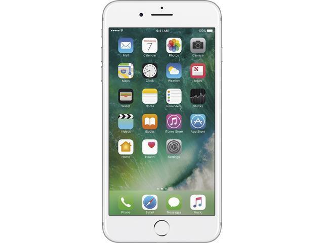 ba48b36a39c Reconstruido: Apple iPhone 7 Plus plata celular AT&T - Newegg.com