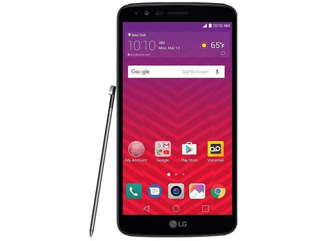 Virgin Mobile LG Stylo 3 with Powerocks Cirrus Power Bank White - Newegg com