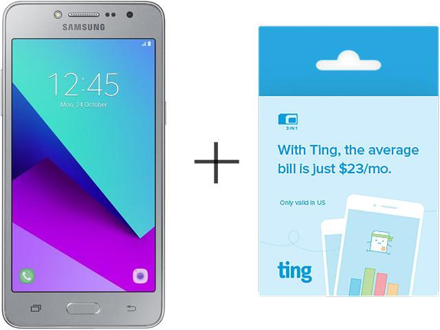 Samsung Galaxy J2 Prime G532M Silver Unlocked GSM Quad-Core Duos Phone w/ 8MP