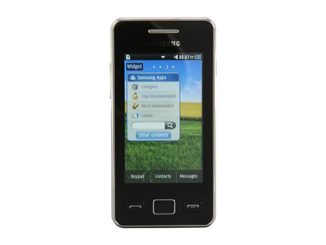 samsung star ii gt s5260 unlocked cell phone 3 0 black 30 mb rh newegg com Samsung Owner's Manual Samsung Owner's Manual