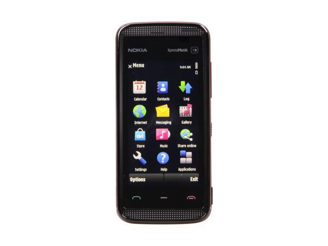 Nokia 5530 XpressMusic Black Unlocked GSM Touch Screen