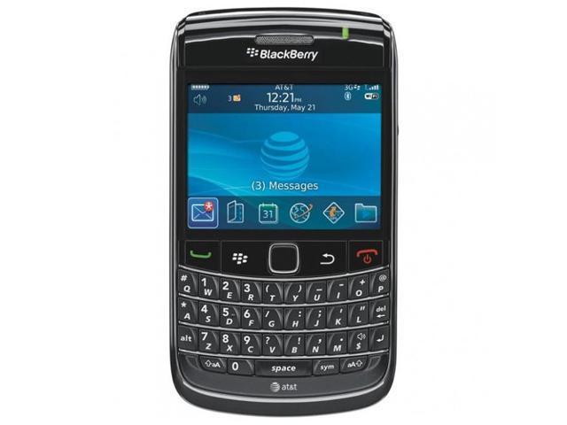 Blackberry Bold Black 3G Unlocked GSM Smart Phone w/ Wi-Fi / GPS /  BlackBerry OS / 2 44