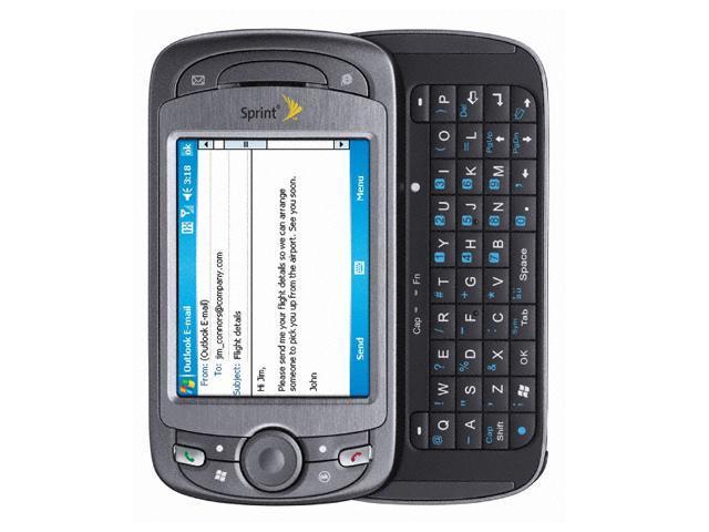 htc mogul gray cdma 1xev do sprint cell phones newegg com rh newegg com HTC Slide Phone HTC EVO