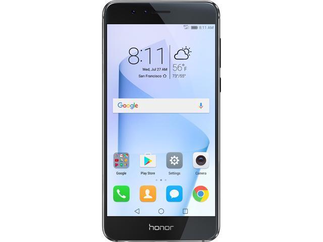 Huawei - Honor 8 Dual Camera Unlocked Smartphone 64GB Midnight Black - US  Warranty - Newegg com