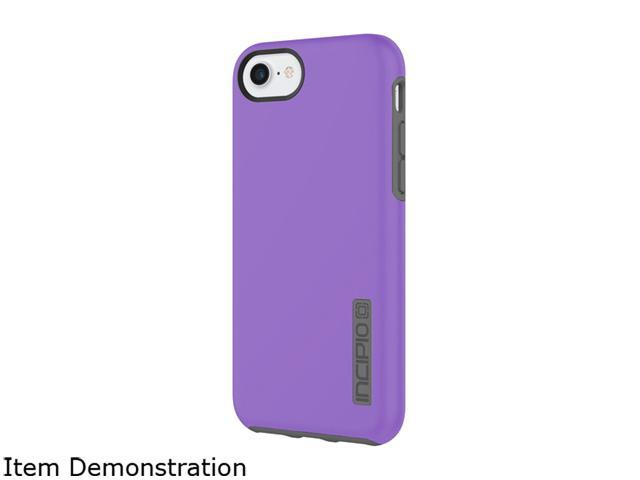 huge selection of 83164 1ef37 Incipio DualPro Purple/Charcoal The Original Dual Layer Protective Case for  iPhone 7 IPH-1465-PRC - Newegg.com