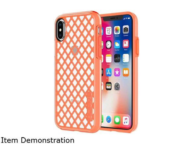 new arrival b4acf 7b602 Incipio DualPro Sport Coral/Clear Case for iPhone X IPH-1636-COR -  Newegg.com