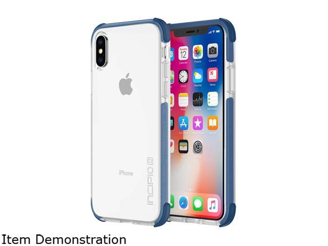 huge discount ef8d5 e7951 Incipio Reprieve SPORT Blue/Clear Case for iPhone X IPH-1633-BLU -  Newegg.com