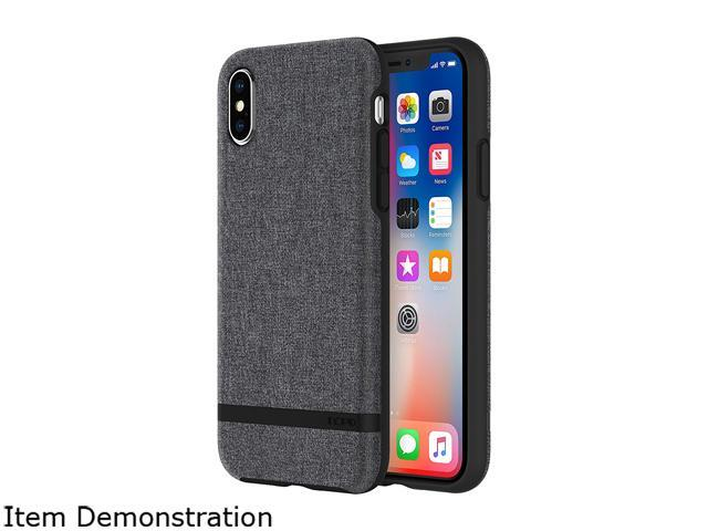 21fe24710ee Incipio Esquire Gray Case for iPhone X IPH-1631-GRY - Newegg.com
