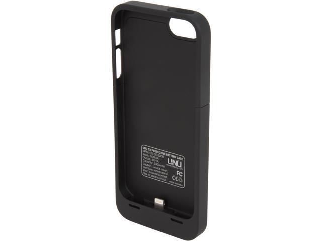 official photos 7d6cd 1bee3 UNU DX Black 2300 mAh Protective Battery Case for iPhone 5 UNU-DX-05-2300B  - Newegg.ca