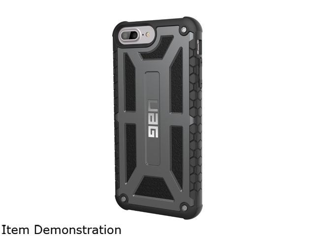 low priced 063f9 0db2f UAG iPhone 8 Plus / iPhone 7 Plus / iPhone 6s Plus [5.5-inch screen]  Monarch Feather-Light Rugged [Graphite] Case - Newegg.com