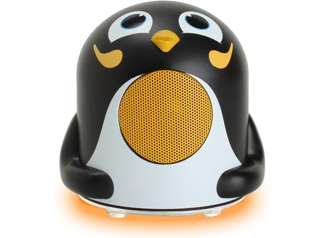 GOgroove Groove Pal Jr Owl Portable Media Speaker w// LED Base /& 3.5mm Jack
